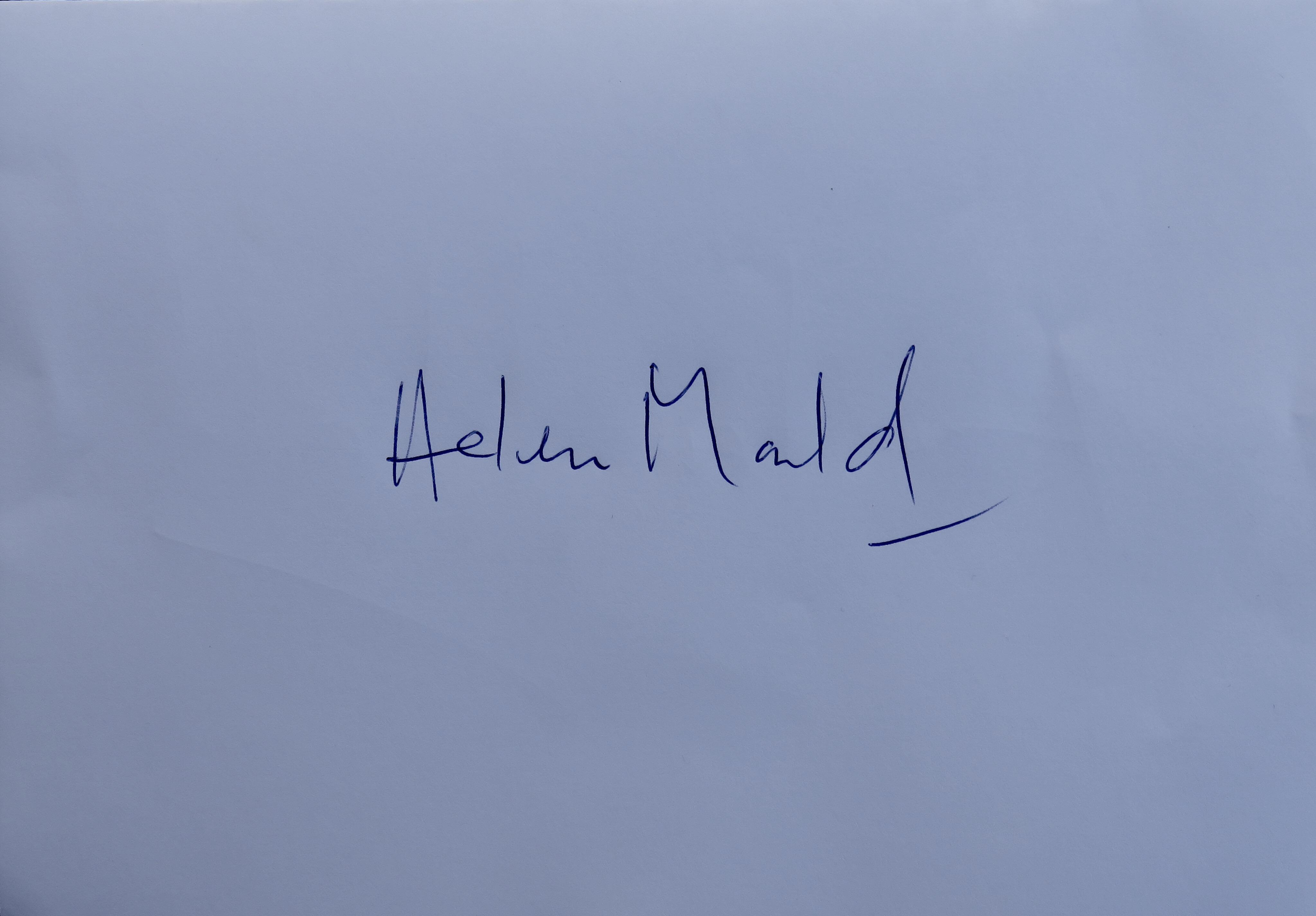 Helen Mould Signature
