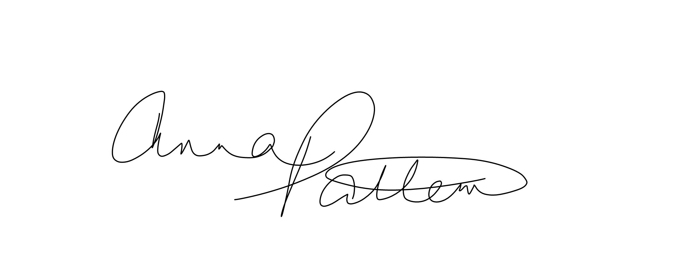 Anna Patten Signature