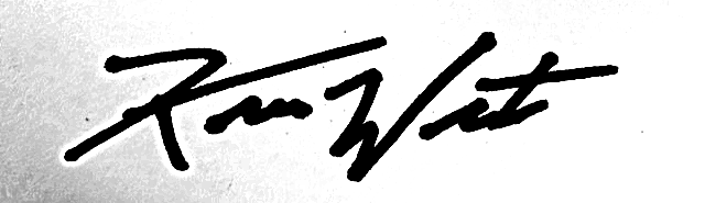 kevin West Signature