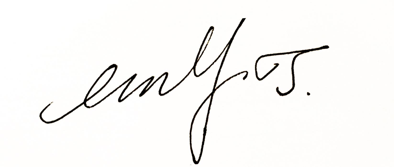 Emma .y. Jiang Signature