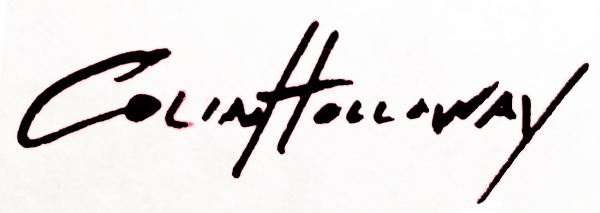 colin holloway Signature