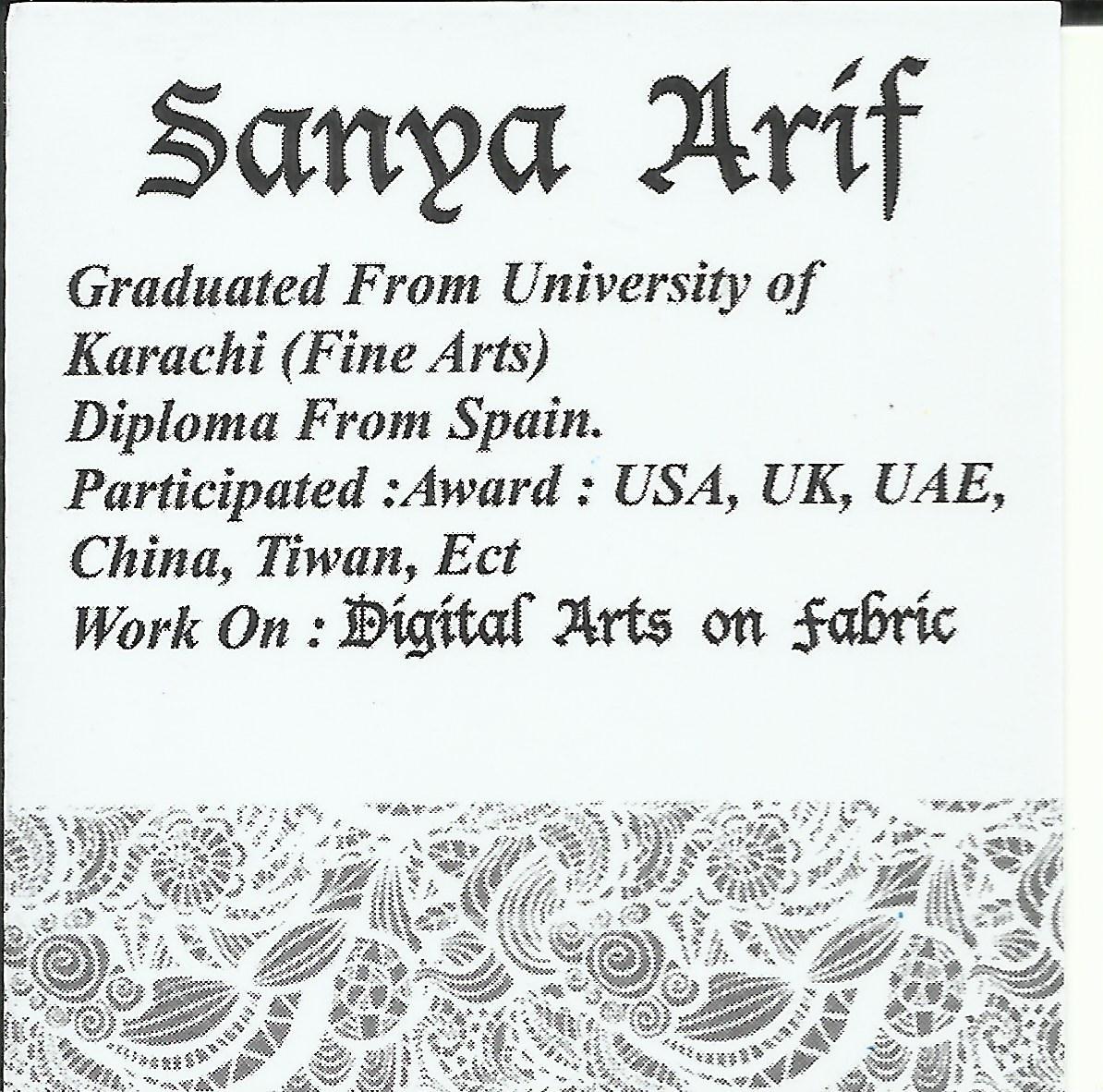 Sanya Arif Signature