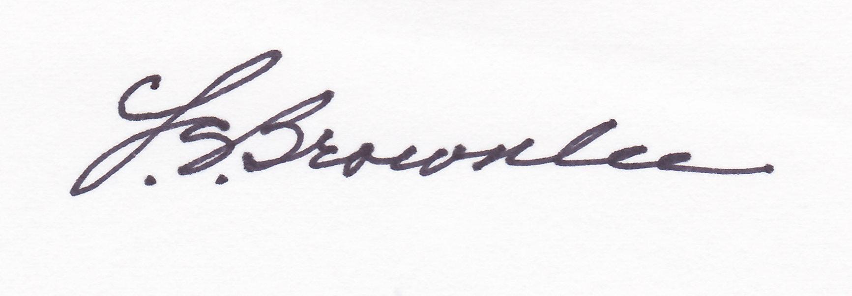 Leona S. Brownlee Signature
