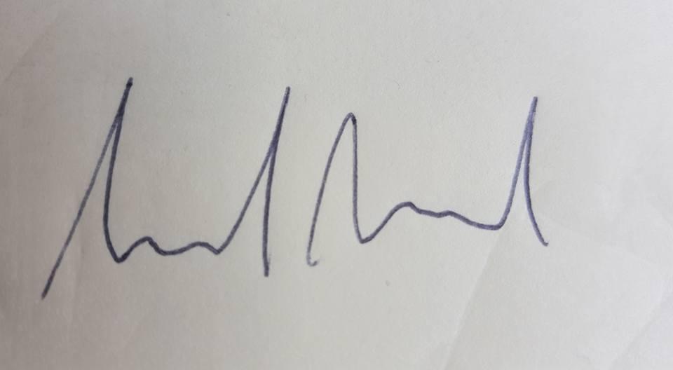 Hannah Farrell Signature