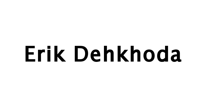 Erik Dehkhoda Signature