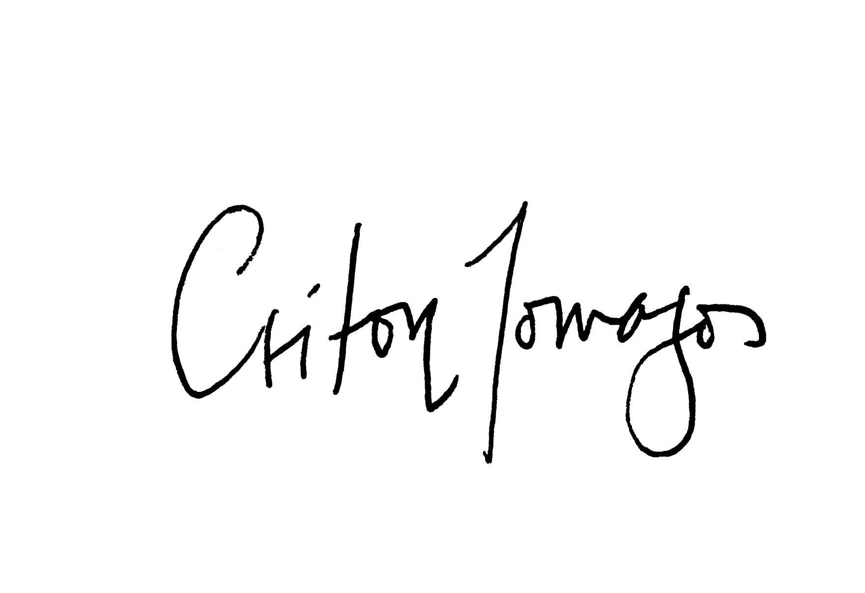Criton Tomazos Signature