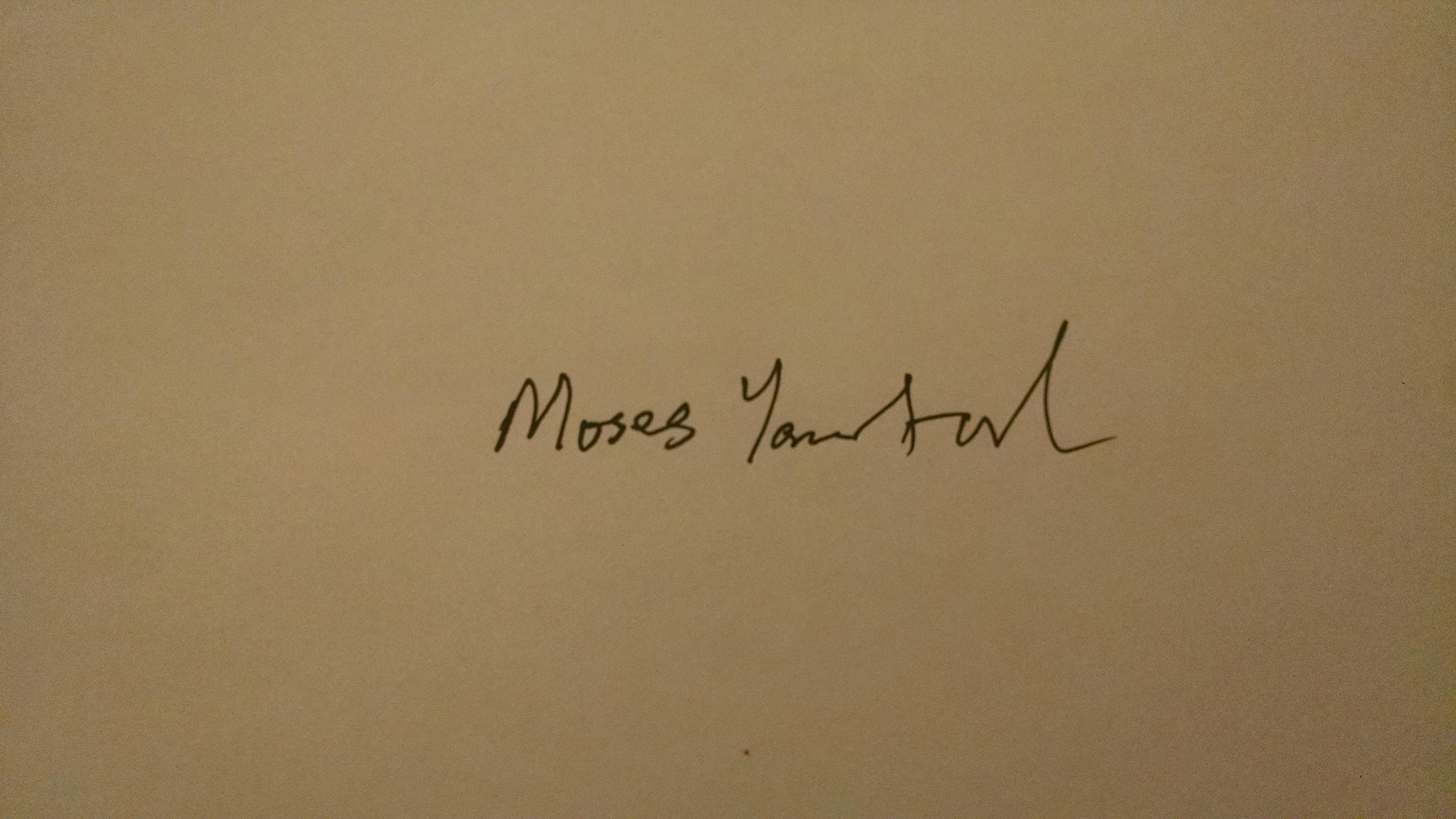 Moses Yamtal Signature