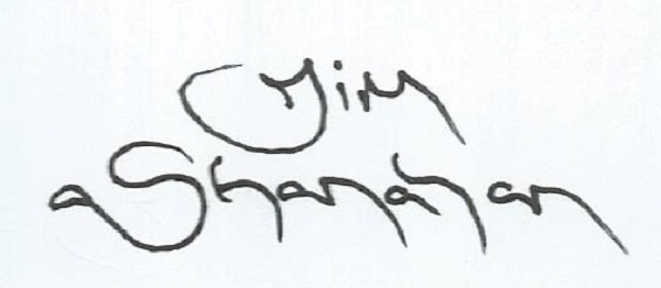 Jim Shanahan Signature