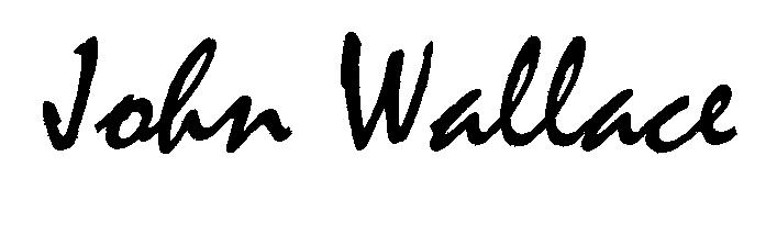 John Wallace Signature