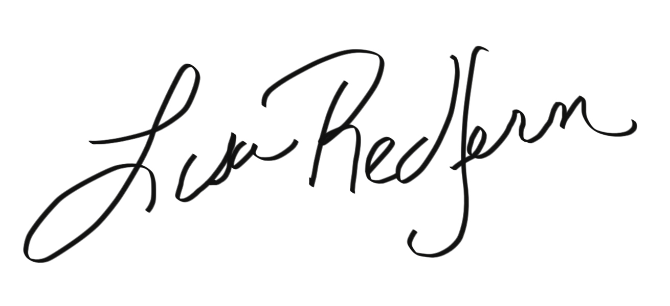 Lisa Redfern Signature