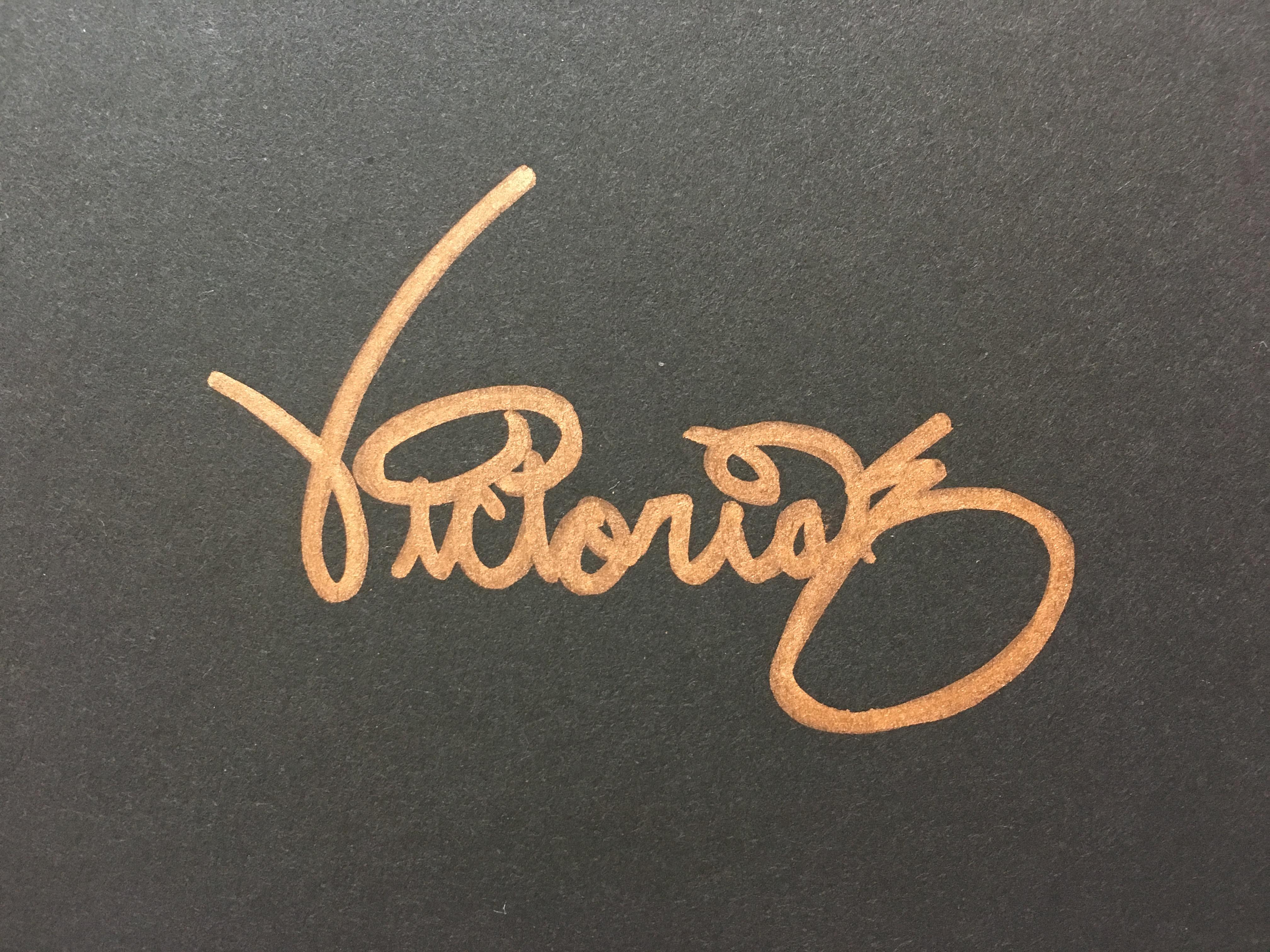 Victoria Kozlowski Signature