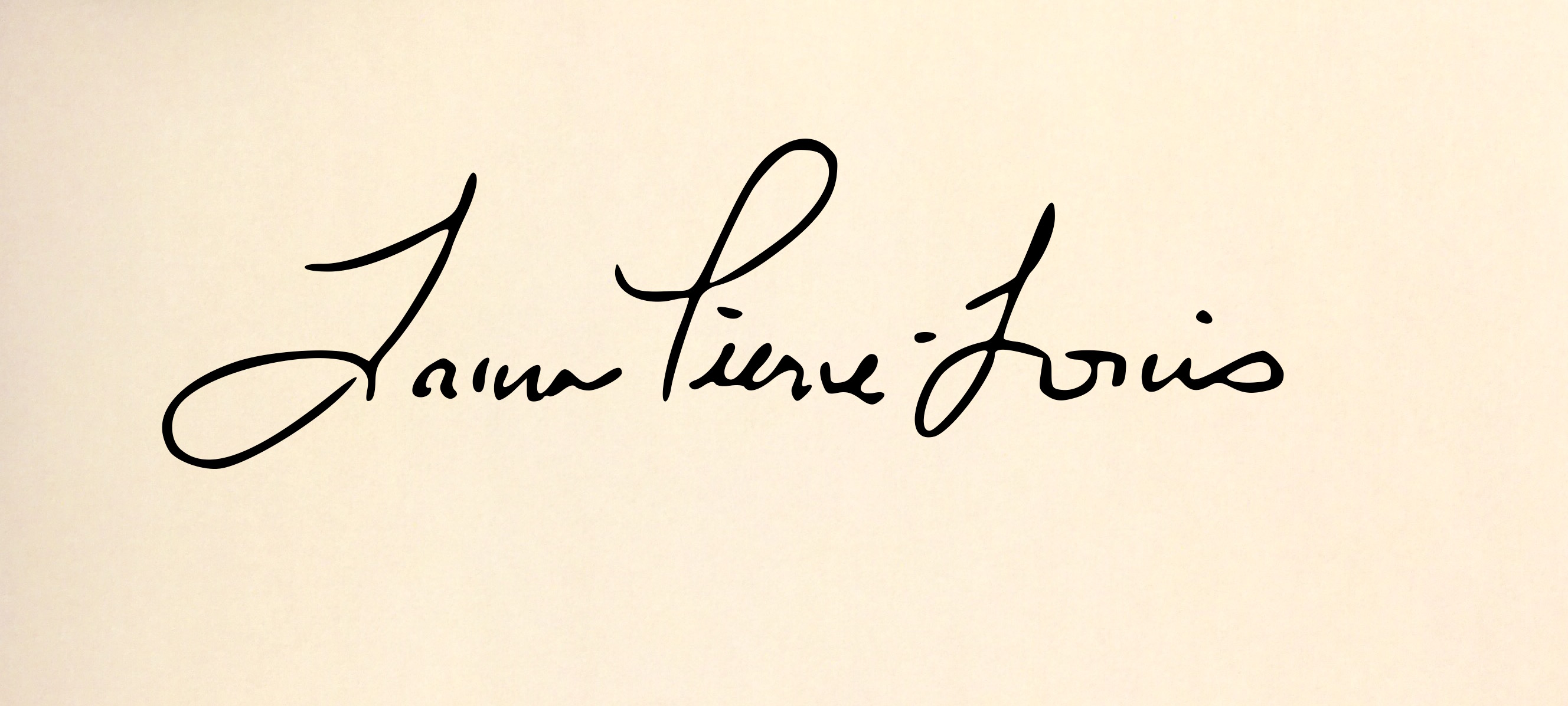 Laura Pierre-Louis Signature