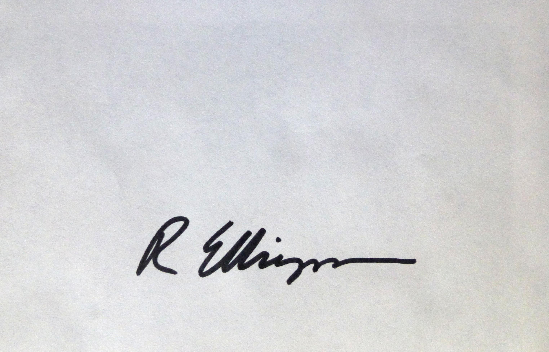 Ruth Ellingson Signature
