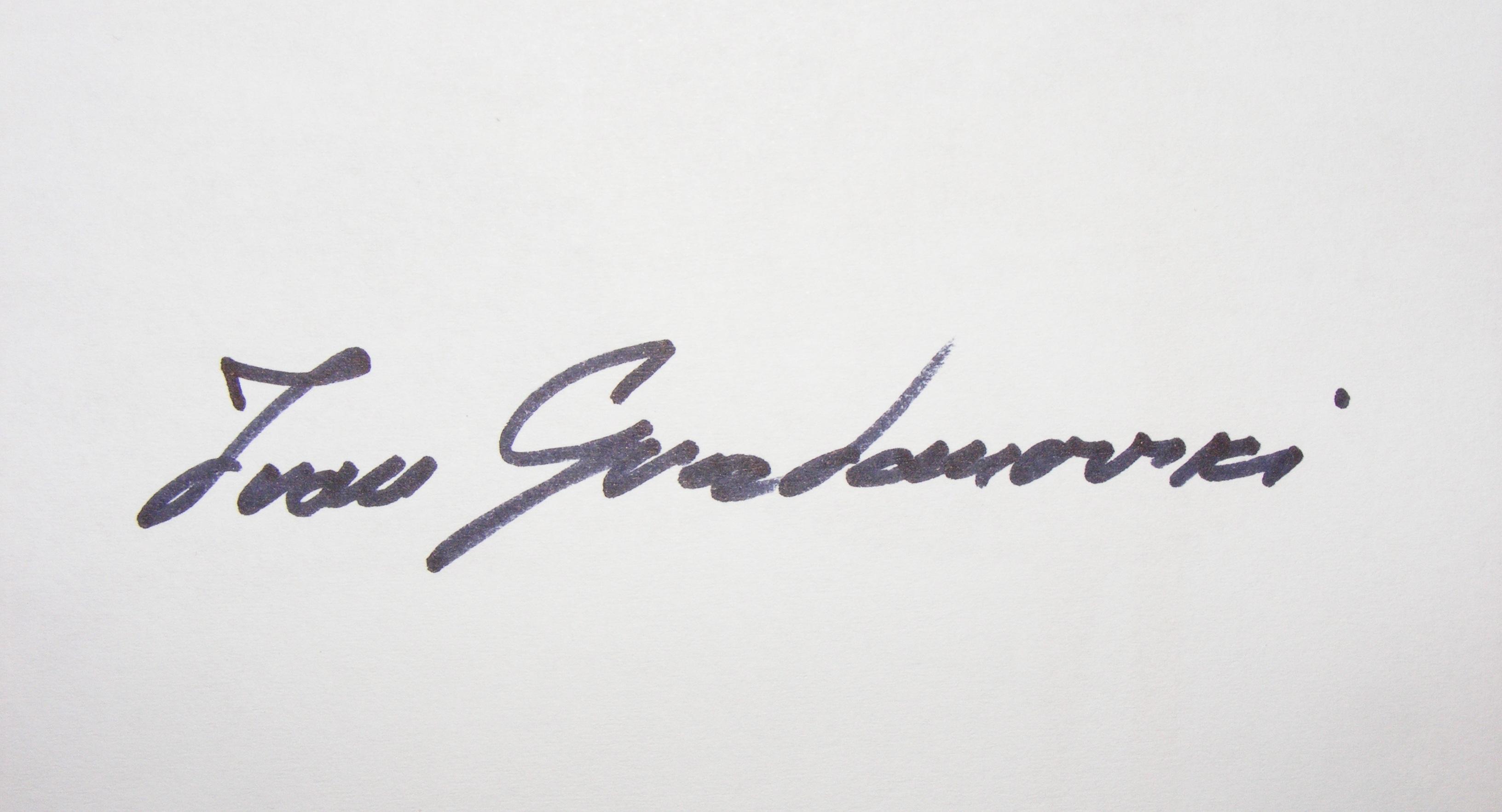 Ivan Grozdanovski Signature