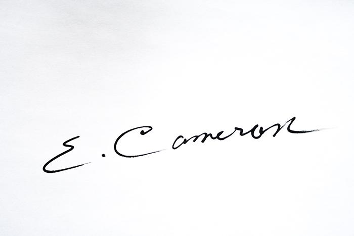 Ellen Cameron Signature