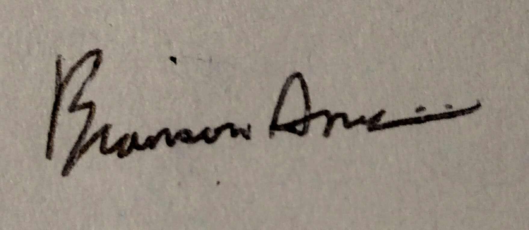 Branson Ames Signature