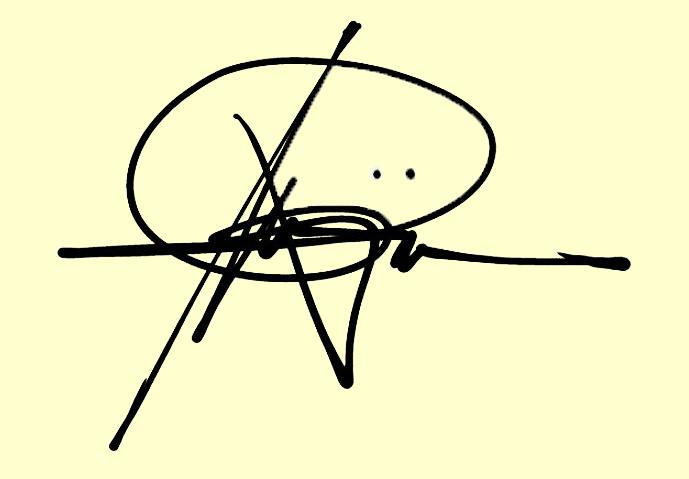 ricky mojica Signature