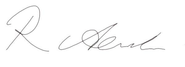 Ray Alexander Signature
