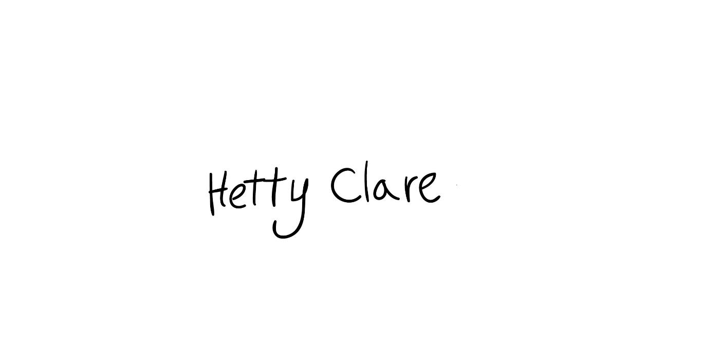 hetty clare Signature