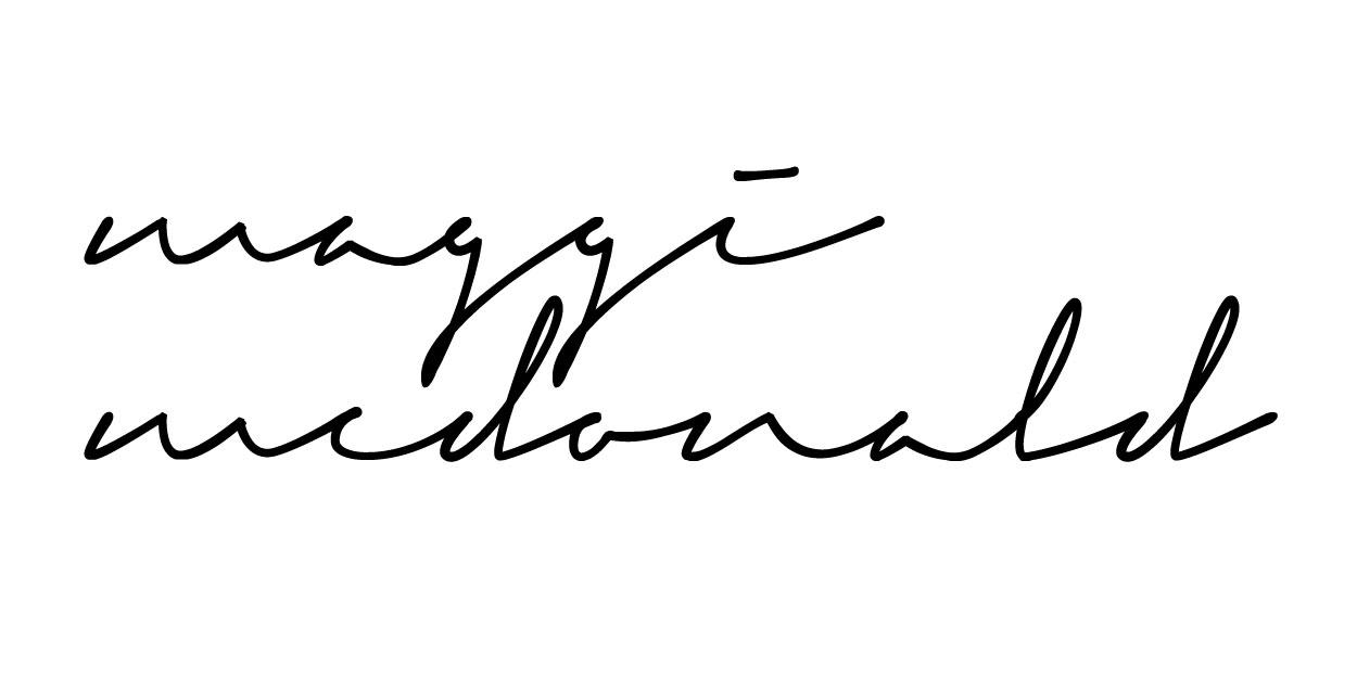 Maggi McDonald Signature