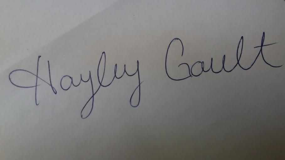 Hayley Gault Signature