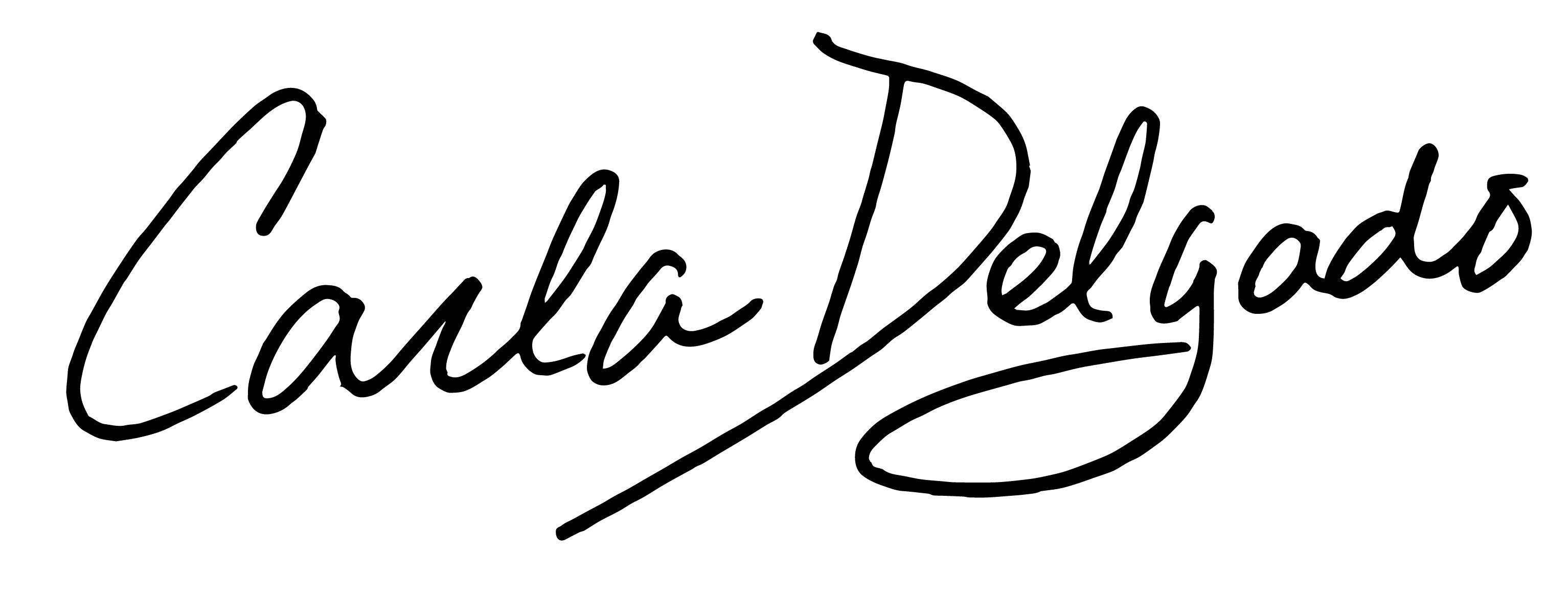 Carla Delgado Signature