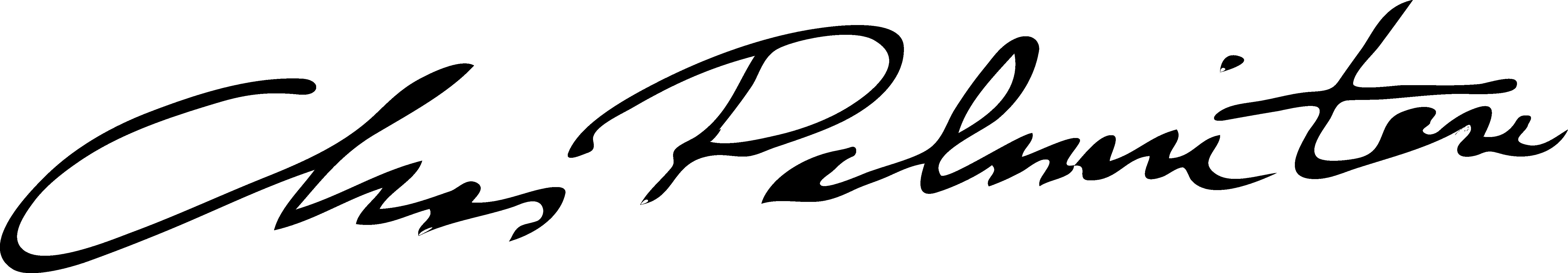 Chas Palminteri Signature
