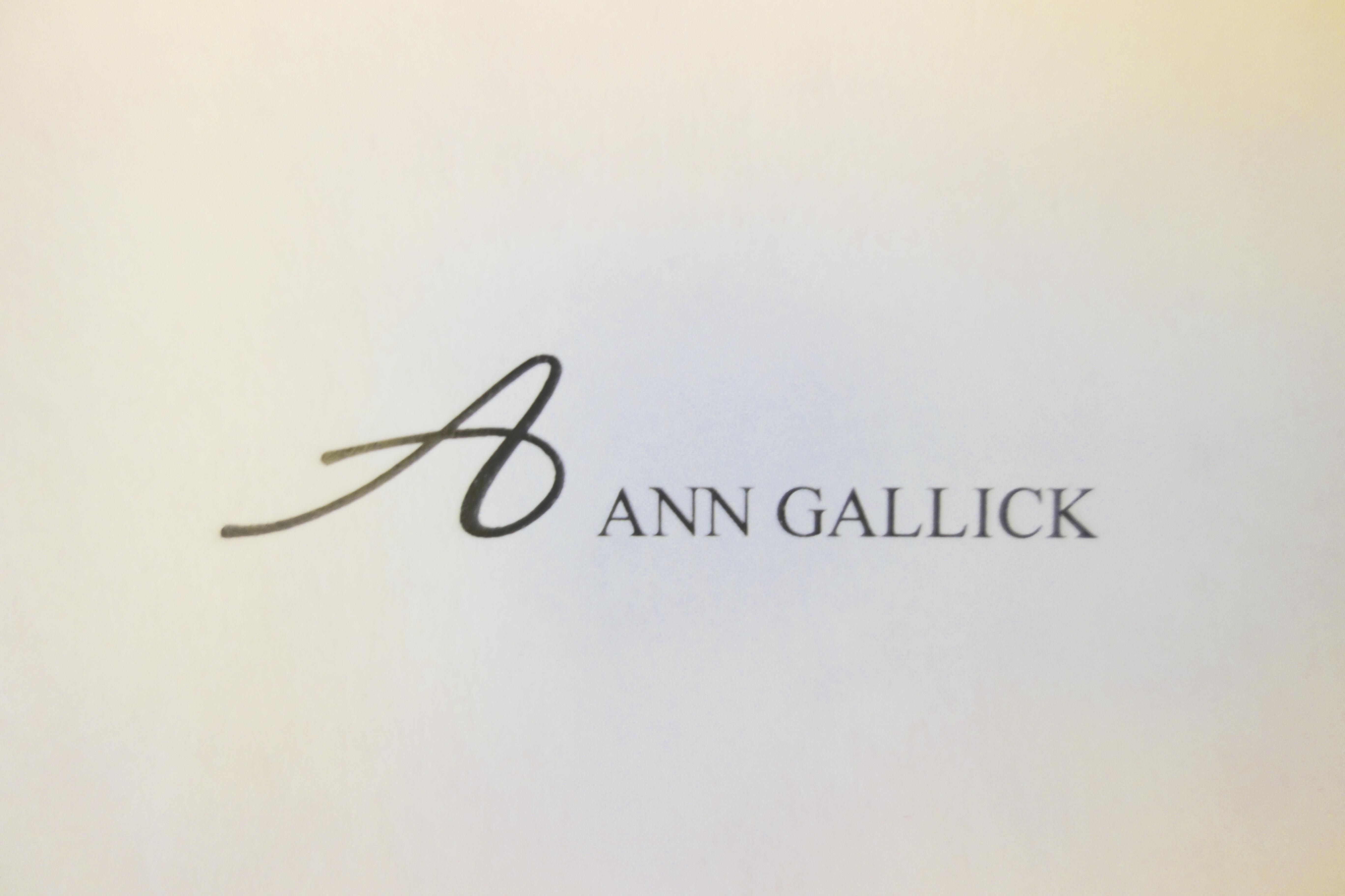 Ann Gallick Signature
