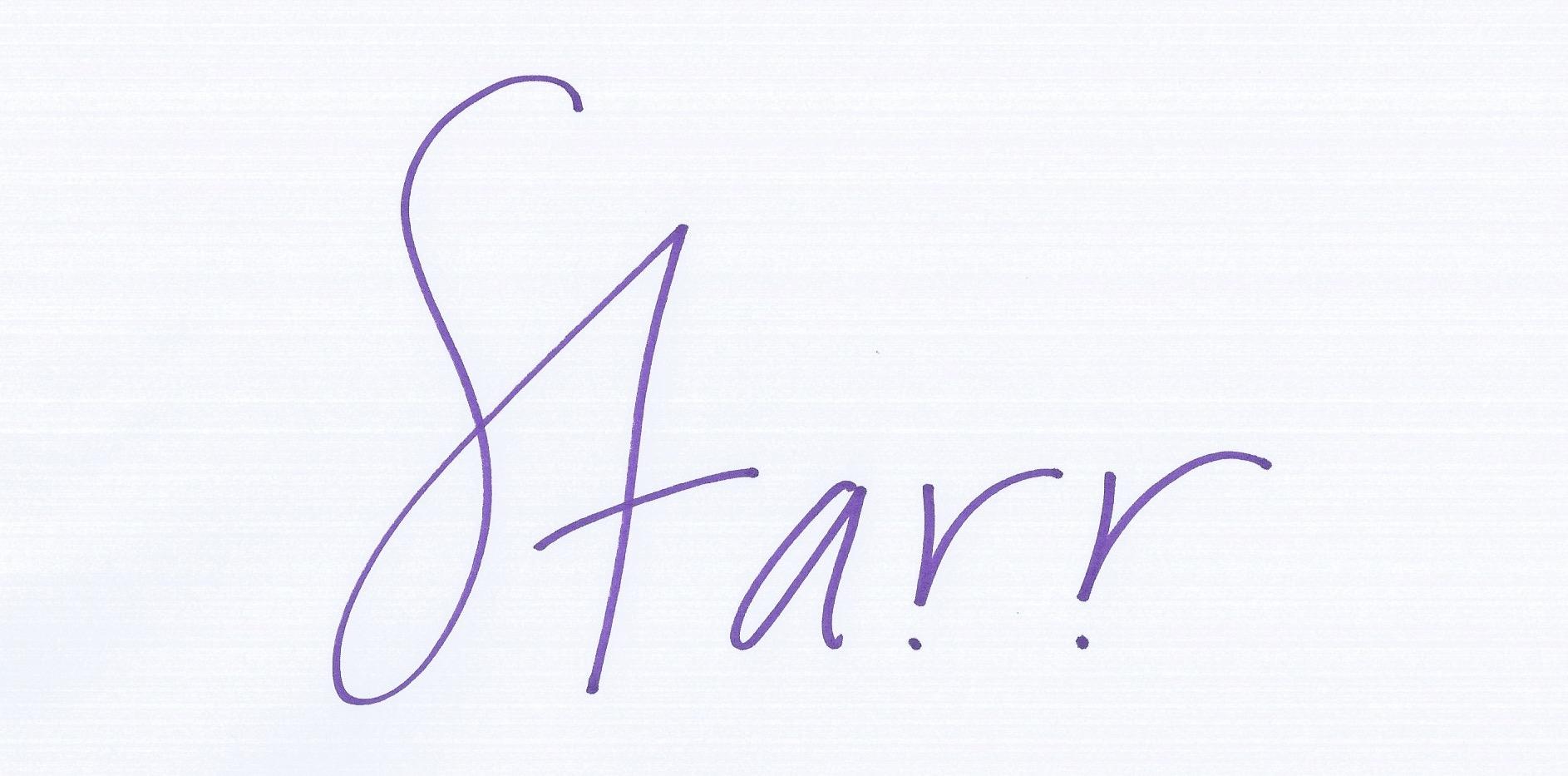 Starr Lowe Signature
