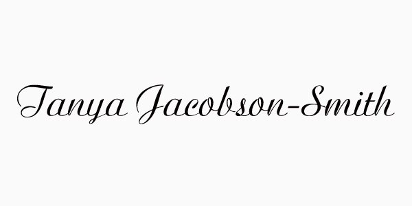 Tanya Jacobson-Smith Signature