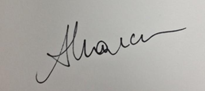 Anda Marcu Signature