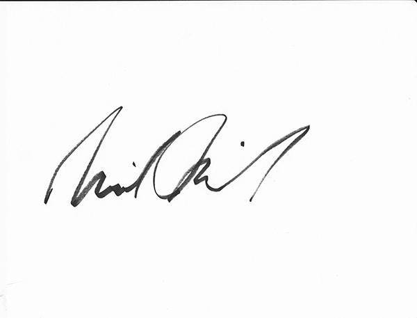 Michael McNeil Signature
