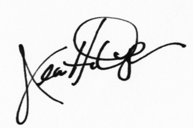 Jeanette Dyer Signature