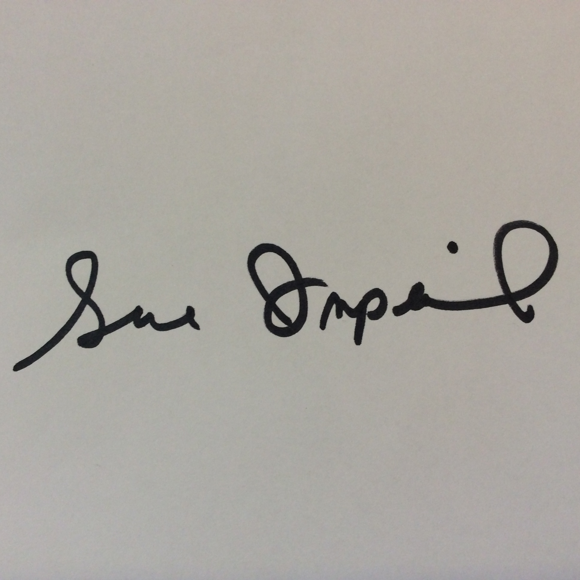 Sue Imperial Signature