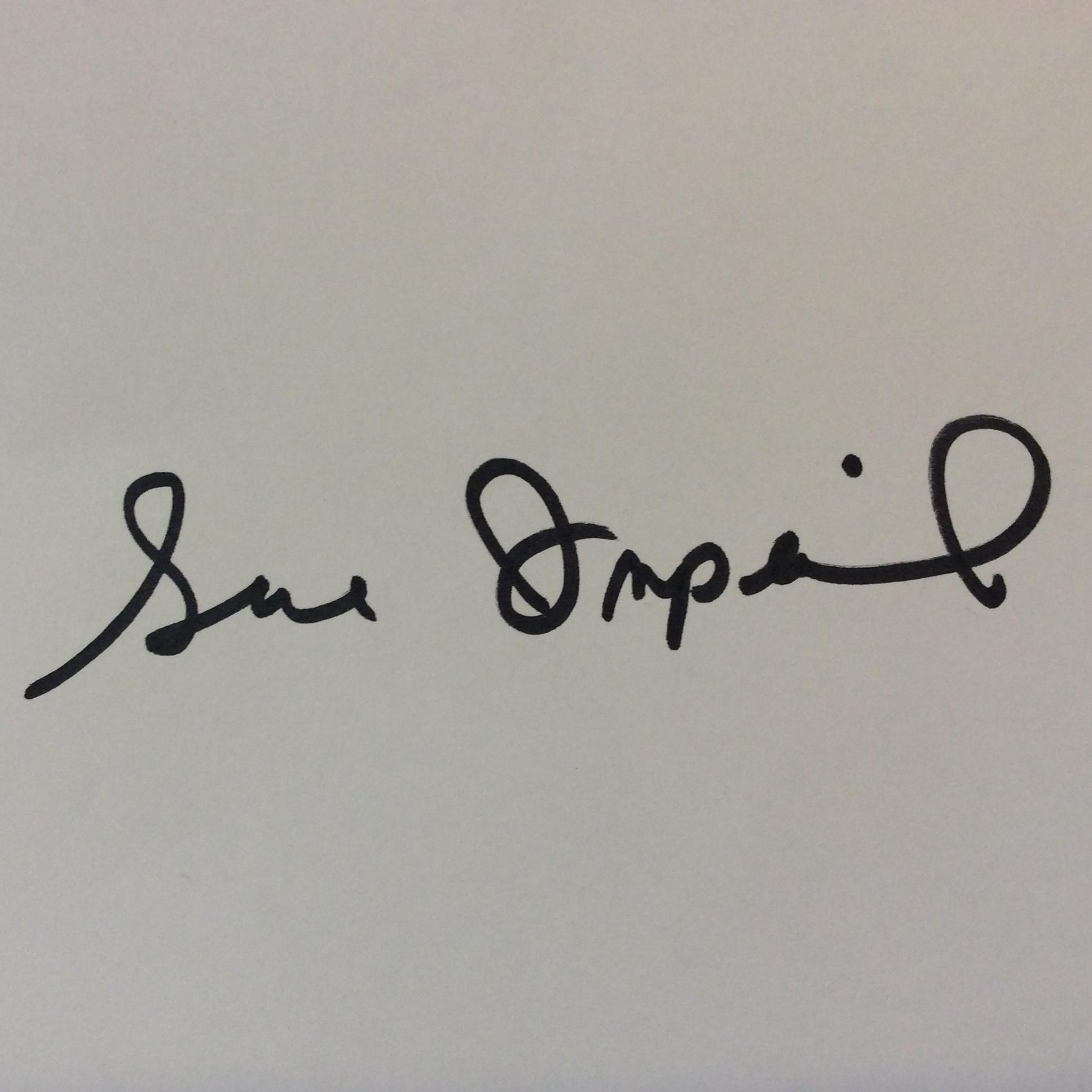 Sue Imperial Signature