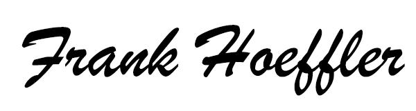 frank hoeffler Signature