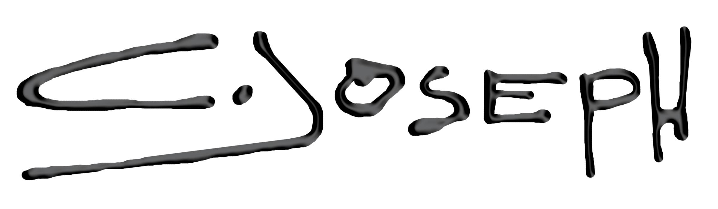 CJoseph ART Signature