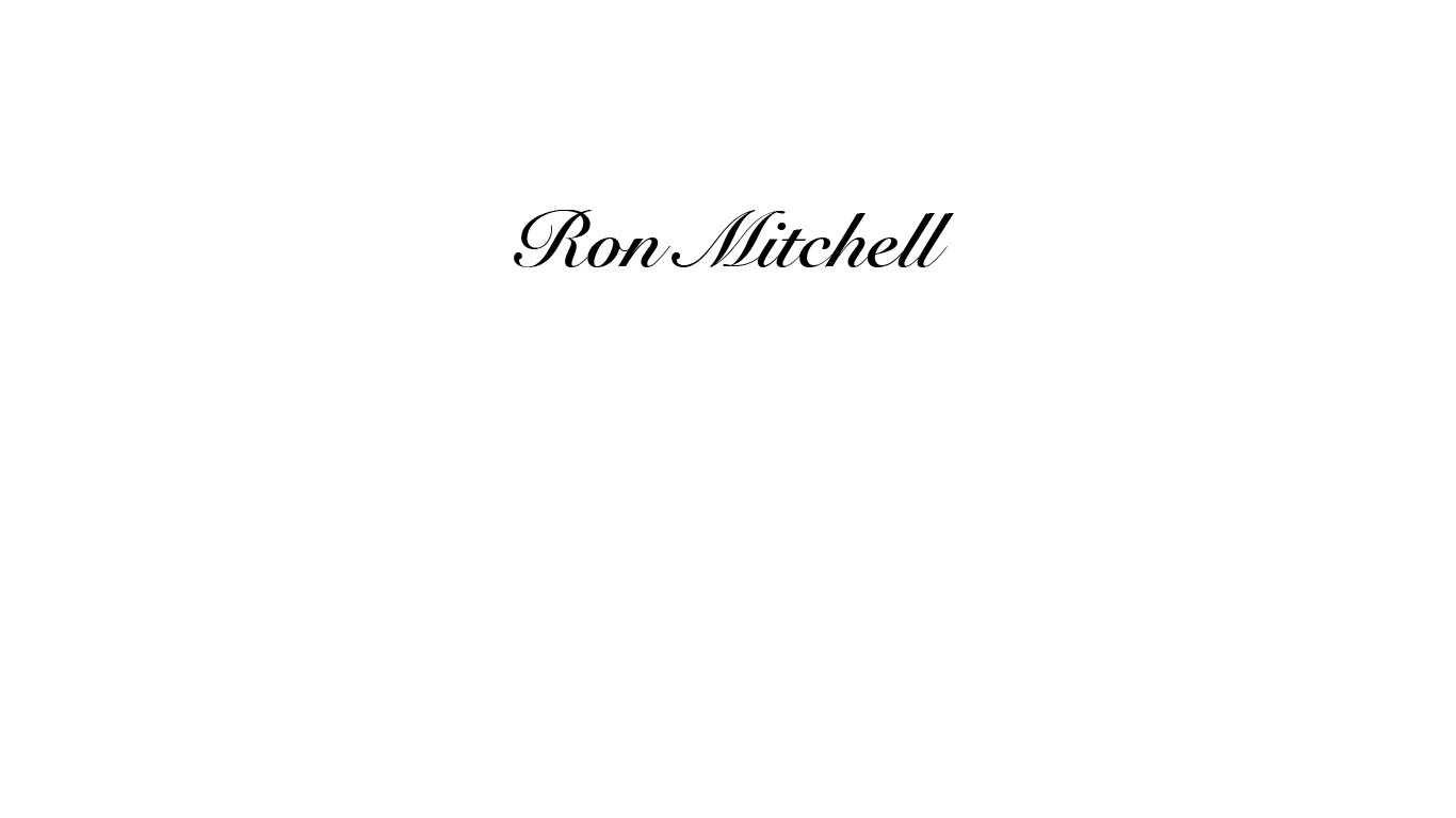 Ron Mitchell Signature