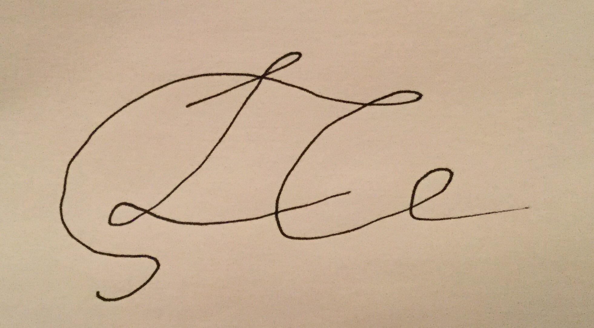 Lauren Collins Signature