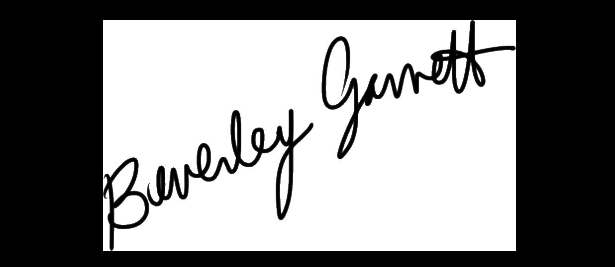 beverley garrett Signature