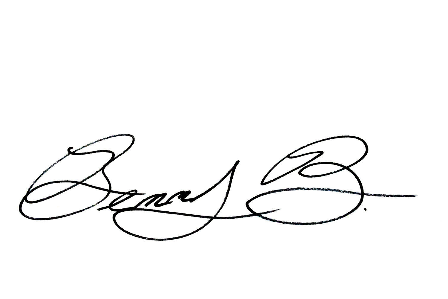 Ben bacon Signature