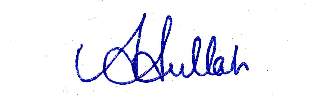 Abdullah Al Mahmud Signature