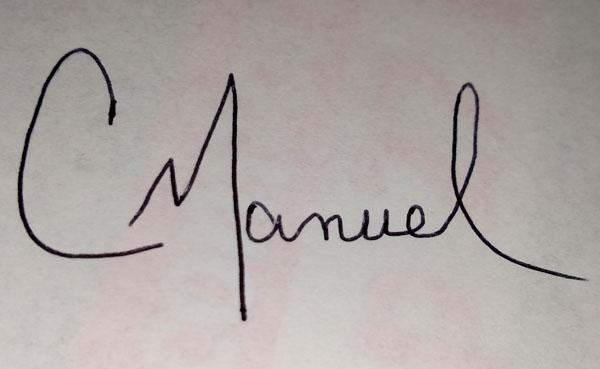 Christie Manuel Signature