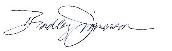 Bradley Jimerson Signature