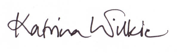Katrina Wilkie Signature