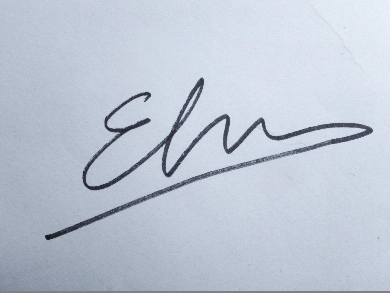 Elsa Pons Signature