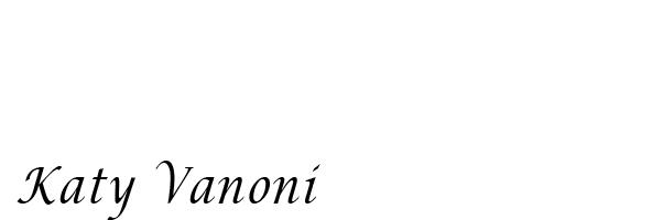 Katy Vanoni Signature