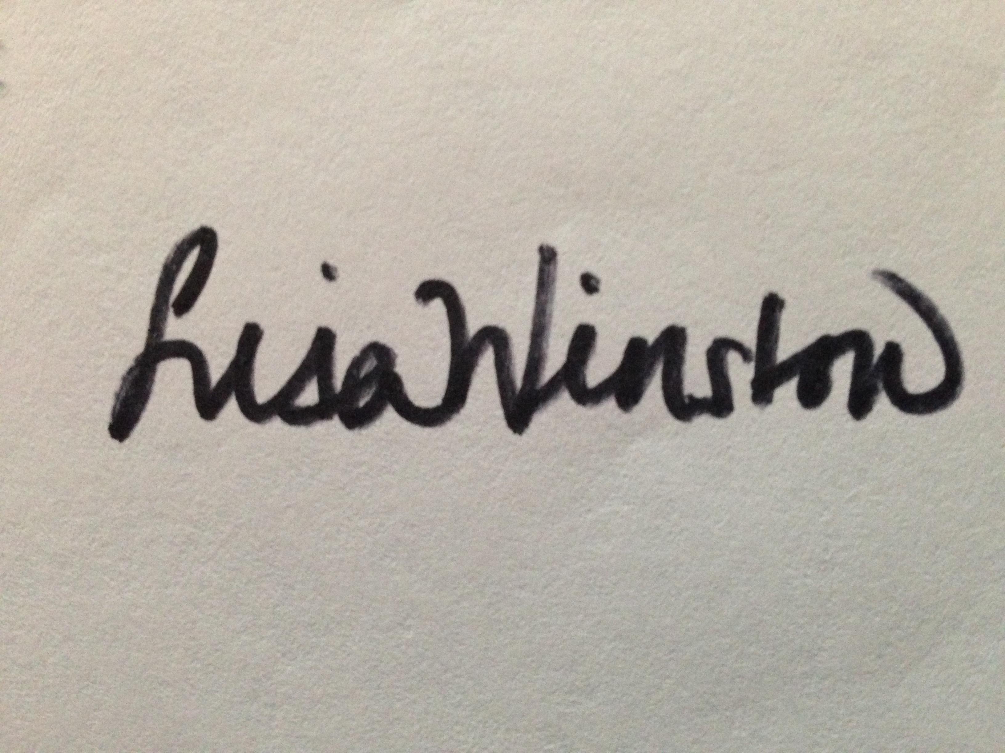 Lisa Winston Signature