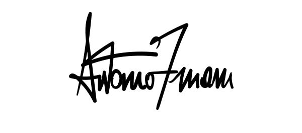 Antonio Zuiani Signature
