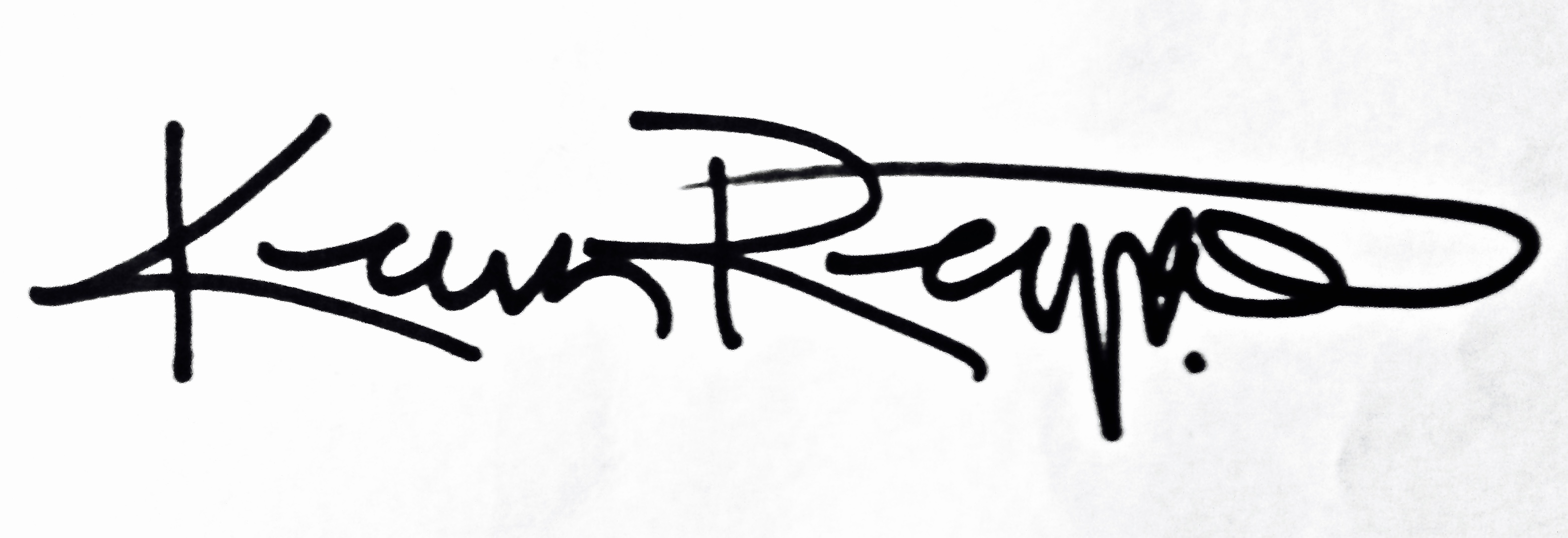 keven reynolds Signature